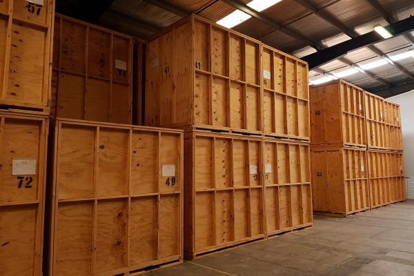 storage crates for house removals